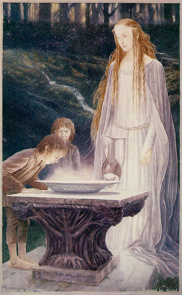 Alan lee for Miroir de galadriel