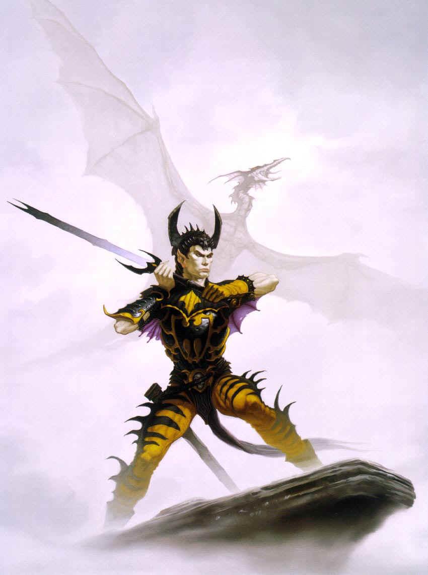 [Heroic-Fantasy] Gerald Brom  Brom%20-%20Bedeviled