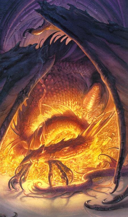 John Howe Dragon John%20Howe%20-%20Smaug