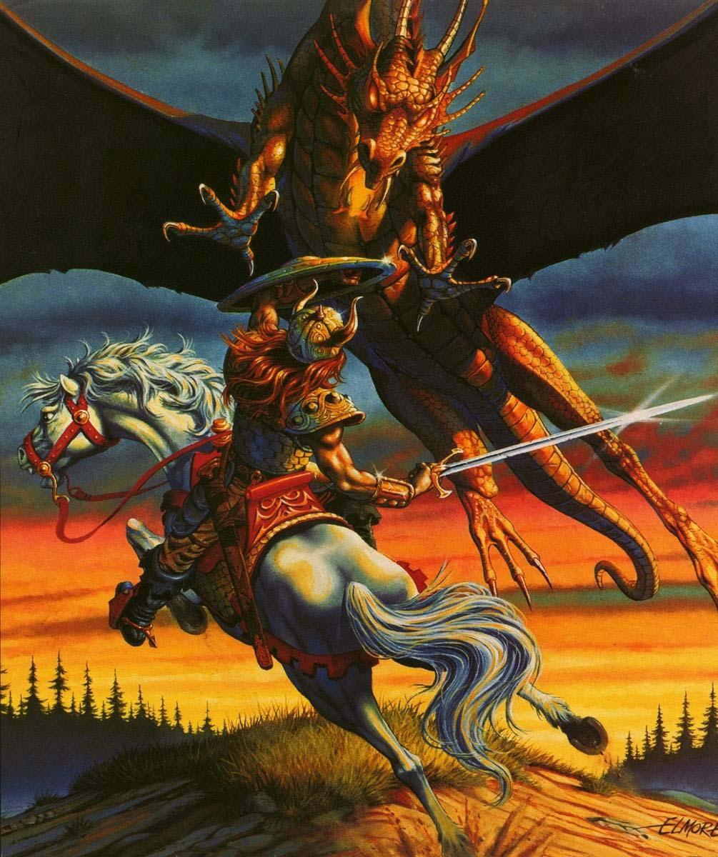 Larry Elmore Dragon
