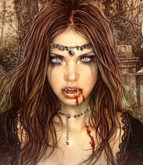 Vampire Women Art
